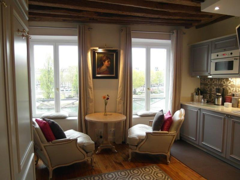 Enjoy your stay in elegant surroundings with a jaw-dropping view on the Seine River - Ile Cite stunning river views March 1050 € /wk - Paris - rentals