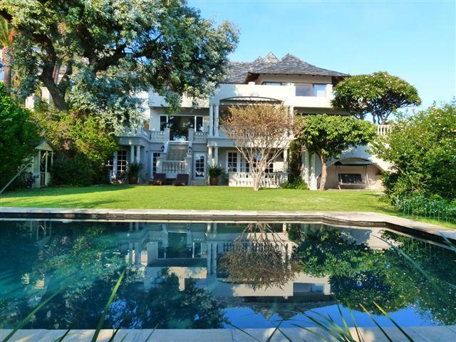 Garden and pool - Hamilton House Cape Town, amazing views, - Cape Town - rentals