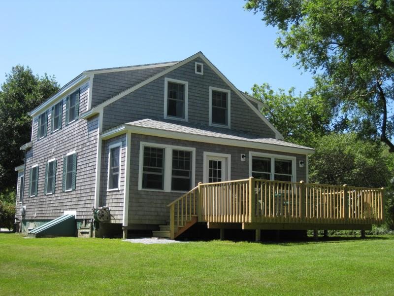 Back Deck - 4 Bedroom Home On White Pond - Chatham - rentals