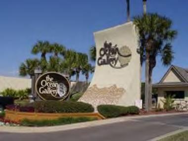 Ocean Gallery Entrance - Ocean Gallery Resort-Premiere Vista 113 - Saint Augustine Beach - rentals
