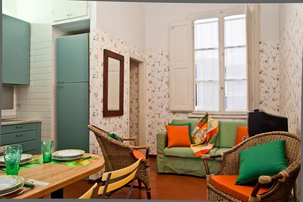 dining/living - ARIANNA Cozy for4 in a great location by the Duomo - Florence - rentals
