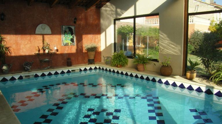 INDOOR SWIMMING POOL - In a Provencal Mas, HEATED INDOOR SWIMMING POOL - Arles - rentals