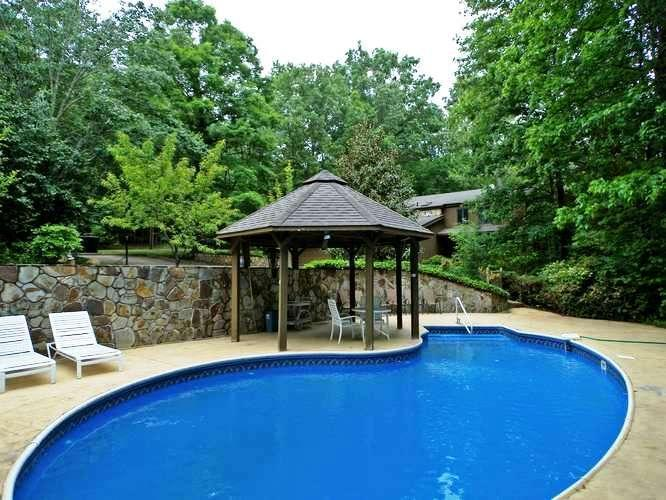 Swimming Pool - Blue Ridge 7 bedroom cabin swimming pool creek - Blue Ridge - rentals