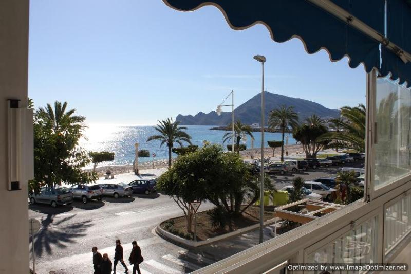 View towards Albir and the bay - Altea Costa Blanca, cosy beachfront apartment - Altea - rentals