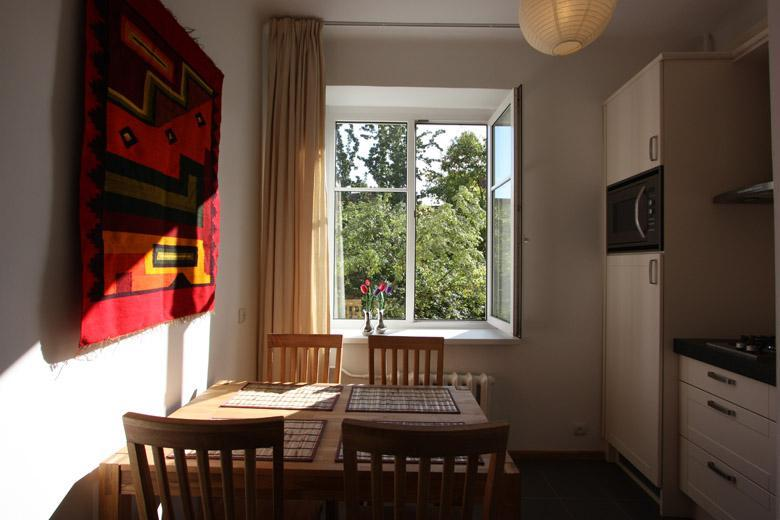Kitchen - Antokolskio Apartment Vilnius,lux&cosy in Old Town - Vilnius - rentals