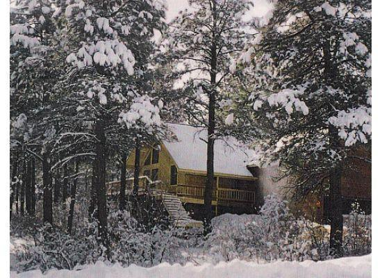 view from the road - Family Home,Rocky Mountains,quite western town - Pagosa Springs - rentals
