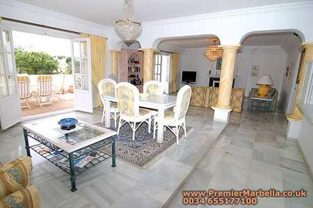 "The extremely spacious lounge opens to the huge terrace - El Presidente ""ADELE"" 3 Bedroom Condo Nr Marbella - Malaga - rentals"