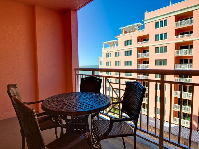 Dine or relax on your private balcony - Hyatt Regency Premium 1 Bedroom 2 Queen With Beach View - Clearwater Beach - rentals