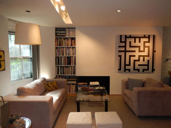 Architects own sleek and modern: seen on HGTV, ABC - Image 1 - Boston - rentals