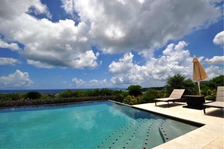 HOPE BELLE VUE...  gorgeous 4BR luxury villa overlooking Orient Bay - Image 1 - Orient Bay - rentals