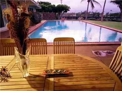 Pool & Tennis Court - Views of Mountains & Ocean    STWK/2013/000 - Image 1 - Paia - rentals