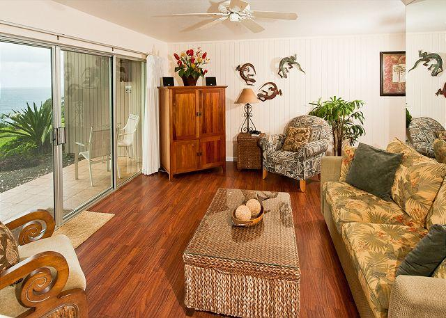 Just finished a remodel!  Gorgeous Ocean Views - Steps to Beach Access!! - Image 1 - Princeville - rentals