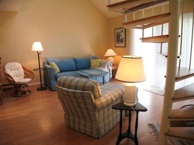Living Room - Ocean Edge with King Bed, A/C & Pool (fees apply) - HO0473 - Brewster - rentals