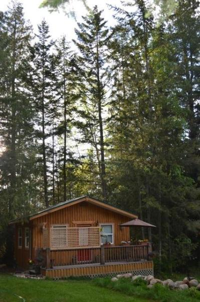 front view of the Kootenay Cottage - Cozy Cottage in the Kootenay Rockies, Nelson B.C. - Nelson - rentals