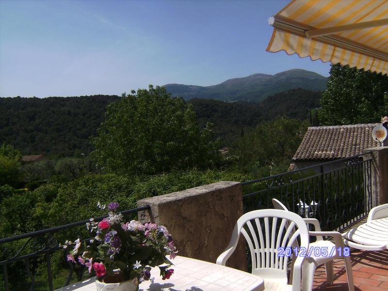 View - Wonderful Villa in Vence, French Riviera, Sleeps up to 6 People - Vence - rentals