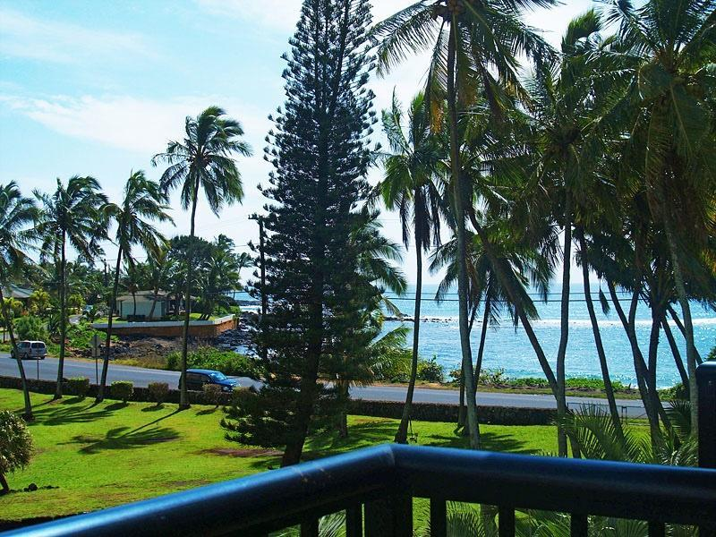 View from your Lanai - 1 bdrm condo near Poipu Beach, Koloa, HI. - Koloa - rentals
