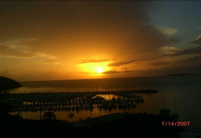 Gorgeous sunset - Pena Mar Ocean Club - PR - Outstanding ocean view - Fajardo - rentals