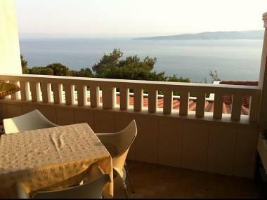 A1(4): terrace view - 5460  A1(4) - Brela - Brela - rentals