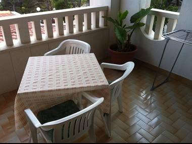 R1(3): terrace - 5460  R1(3) - Brela - Brela - rentals
