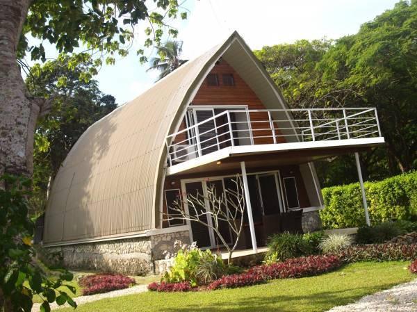 Large Deck off Master Bedroom - Villa BELLE, Luxury 4 Bed 2 Bath OCEAN Front - Port Vila - rentals
