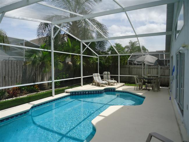 Perfect 5BR 3BA Pool Villa, tropical garden and fenced for your privacy - Image 1 - Kissimmee - rentals