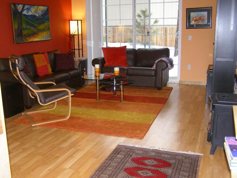 Living room - 2 br, 2 ba Condo Incline Village Lake Tahoe, NV - Incline Village - rentals