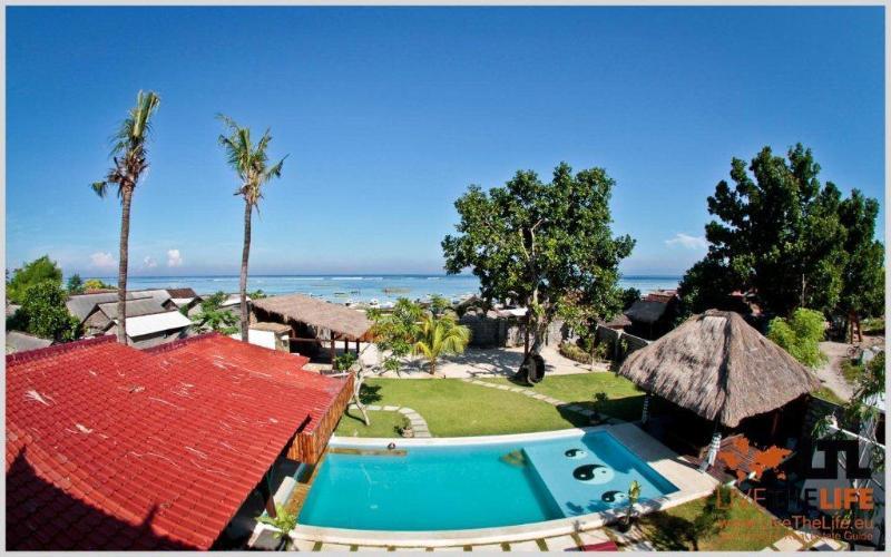 Deck view - Lembongan Beach House - Nusa Lembongan - rentals