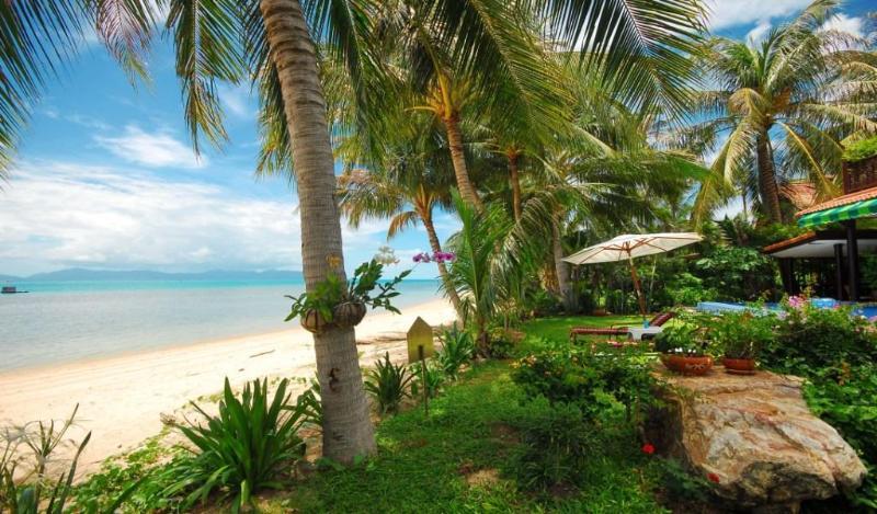 Laguna BEACH - Front beach & Garden - Beach Front Villa with private pool & jacuzzi - Mae Nam - rentals