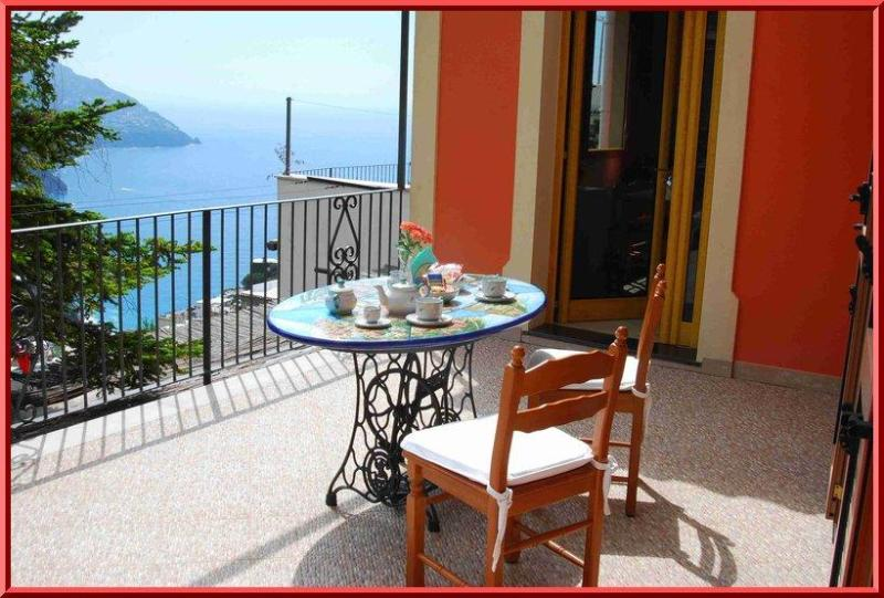 Terrace with seaview - Positano - Nice and budget flat with seaview - Positano - rentals