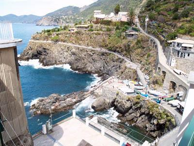 view from the terrace - Mediterraneo 1 - Manarola - rentals