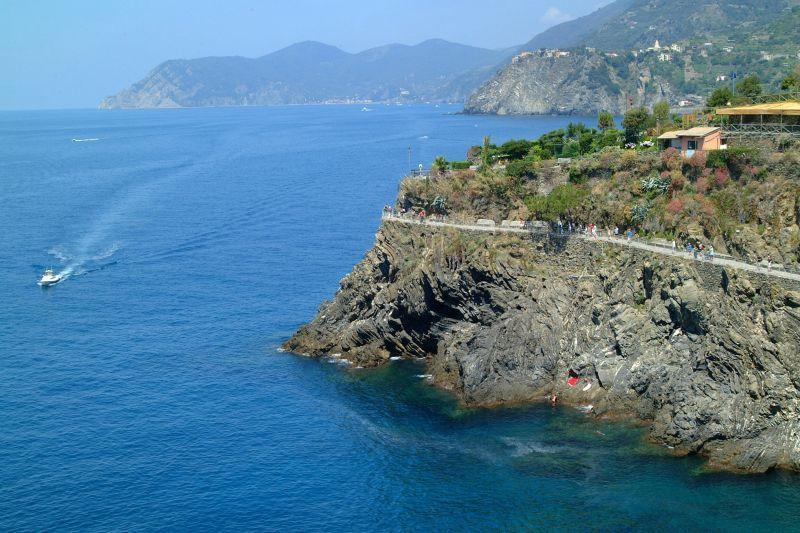View from the balcony - Mediterraneo 2 - Manarola - rentals