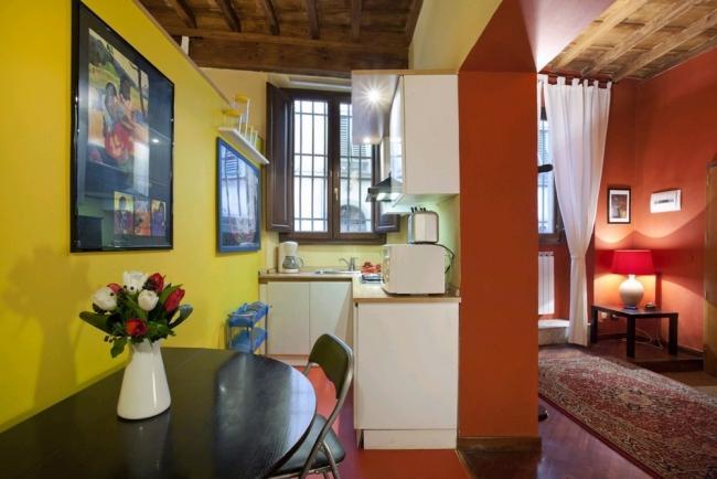 Cosy 1- bedroom apt near Santa Croce Piazza - Image 1 - Florence - rentals