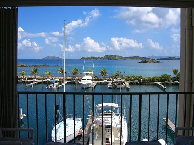 View from balcony - On the Water with Style, Comfort & Luxury - Saint Thomas - rentals