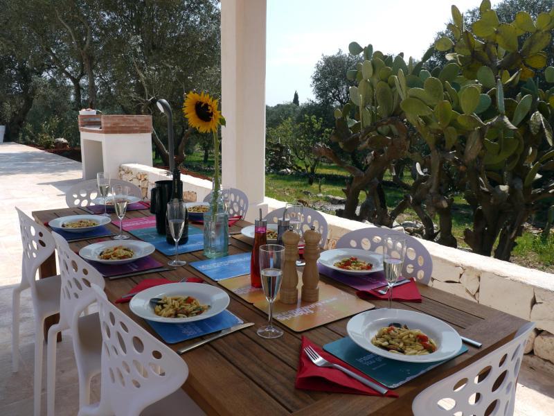Outside Dining Area - Trullo Fico - Ostuni - rentals