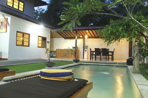 Swimming Pool at 2 Bedroom Villa, Villa # 3 - Villa Abimanyu - 1, 2, 3, 5 or 7 Bdrm from $140/nt - Seminyak - rentals