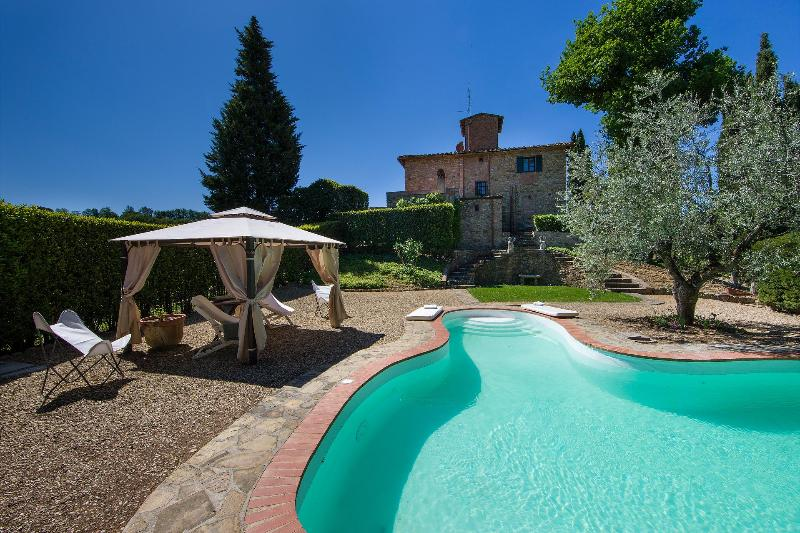 CHARMING TUSCAN VILLA IN CHIANTI WITH PRIVATE POOL - Image 1 - Impruneta - rentals