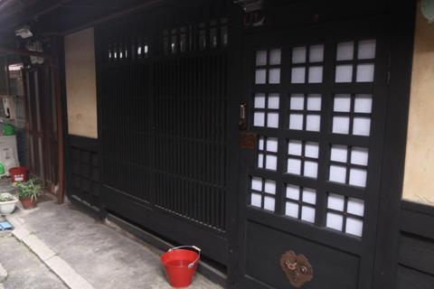 Entrance - Iho-an (Cottage of Lingering Fragrance)-Machiya - Kyoto - rentals