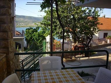 A3 mali (3): terrace view - 5515  A3 mali (3) - Mastrinka - Mastrinka - rentals
