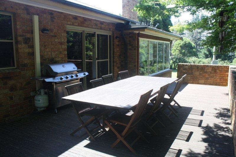 Deck - The Retreat at Robertson - Robertson - rentals