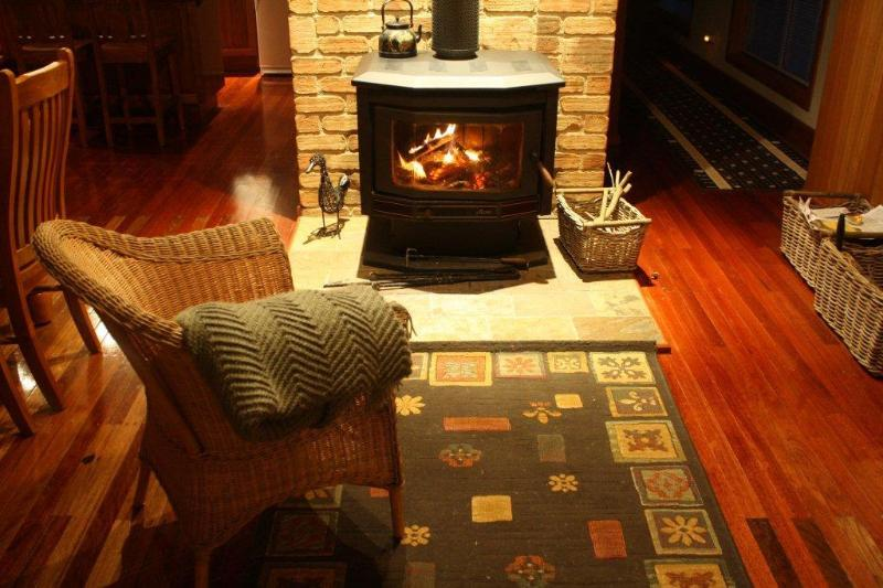 Fireplace - The Retreat at Robertson - Robertson - rentals