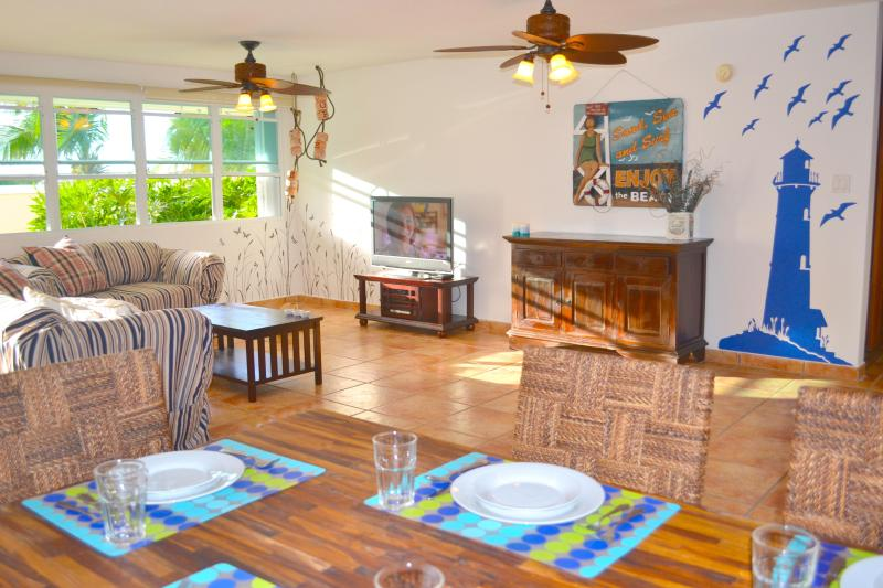 Living Area - Affordable Luxury!Best Beach Apt-1stFl-Privat Pool - Fajardo - rentals