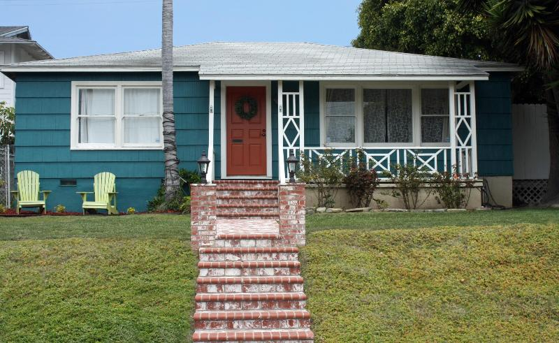 Teal Seal - Main House from the Street, Cottage and Casita behind main house. - Beach House, Cottage & Casita For The Price Of One - San Clemente - rentals