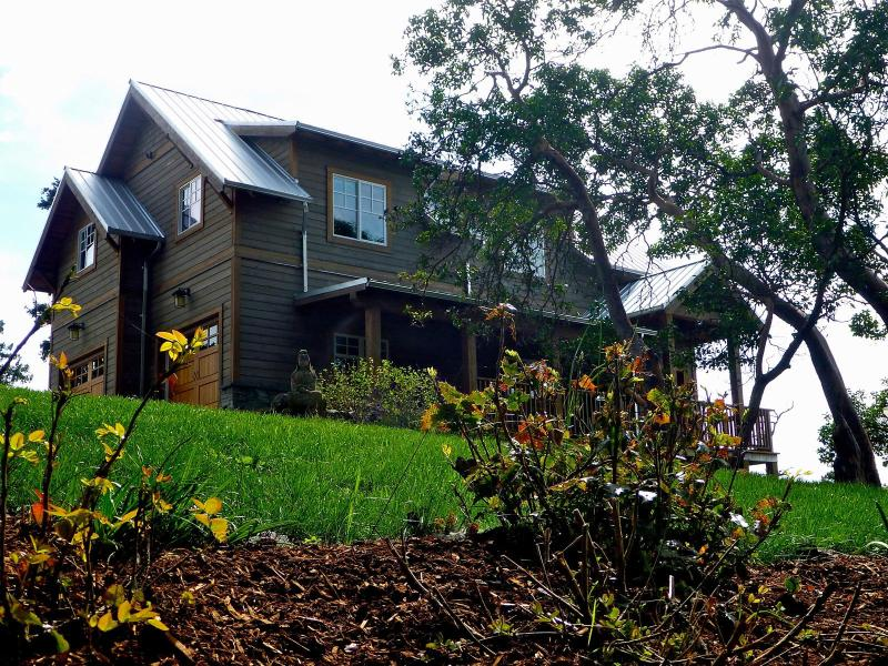 View from Galloping Goose Trail - Wildslope Farm - 2 bdrm cottage - Victoria - rentals