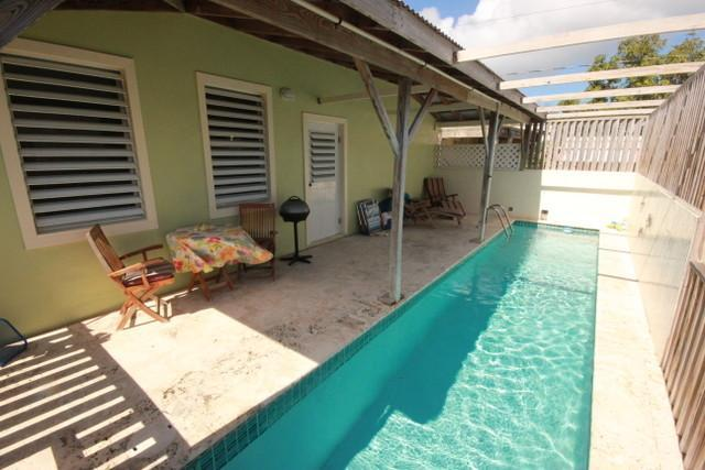 Pool & Patio - Culebra - Casa Pueblo- Pool & Kayaks - Culebra - rentals