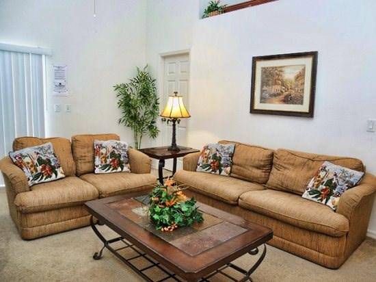 Living Area - CRC4P1069TD 4 BR Pool Home with Spacious Living Areas - Orlando - rentals