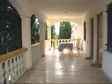 A1(4): common terrace - 5522 A1(4) - Vir - Vir - rentals