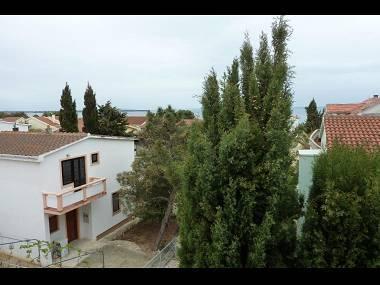 A3(4): terrace view - 5522 A3(4) - Vir - Vir - rentals