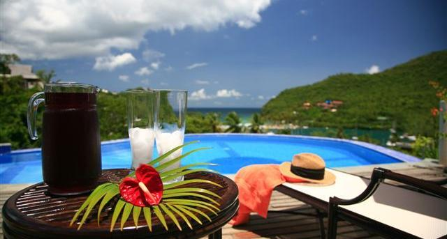 Ashiana Villa at Marigot, Saint Lucia - Panoramic Views, Pool, Air Conditioning - Image 1 - Marigot Bay - rentals