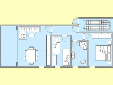 A2(4+1): floor plan - 5526  A2(4+1) - Podstrana - Podstrana - rentals
