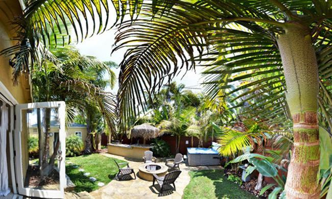 Backyard Panoramic - Resort Living 3 blocks to water on 3 sides - Pacific Beach - rentals